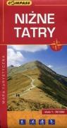 Niżne Tatry mapa turystyczna 1:50 000