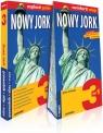 Nowy Jork 3w1: przewodnik + atlas + mapa