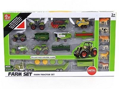 Traktor Adar metalowe pojazdy rolnicze i maszyny, zwierzęta (507265)