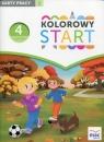 Kolorowy Start Czterolatek Karty pracy Część 1
