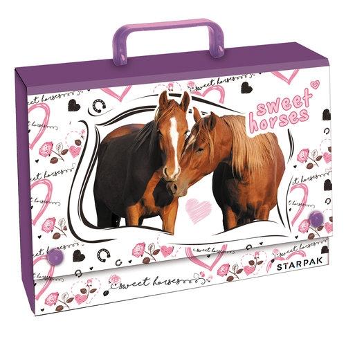 Teczka z rączką Horses
