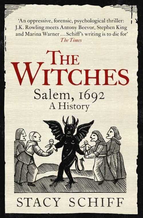 The Witches Salem 1692 A History Schiff Stacy