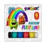 Plastelina Fun&Joy, 6 kolorów (220437)