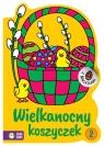 Wielkanocne kolorowanki Wielkanocny koszyczek 2