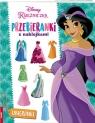 Disney Księżniczka Przebieranki z naklejkami