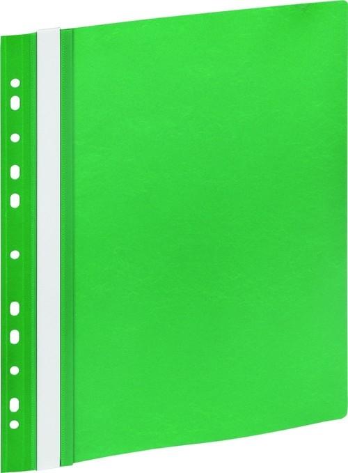 Skoroszyt A4 z europerforacją GR 505E zielony 10 sztuk
