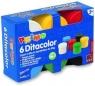 Farby do malowania palcami Primo 6 kolorów 50 g