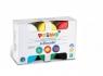 Farby do malowania palcami PRIMO, 6 kolorów (226TD50S)