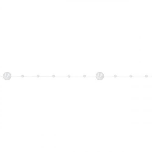 Sznurek Perełek 20m - Biały