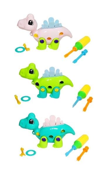 Zwierzątko dinozaur do skręcania