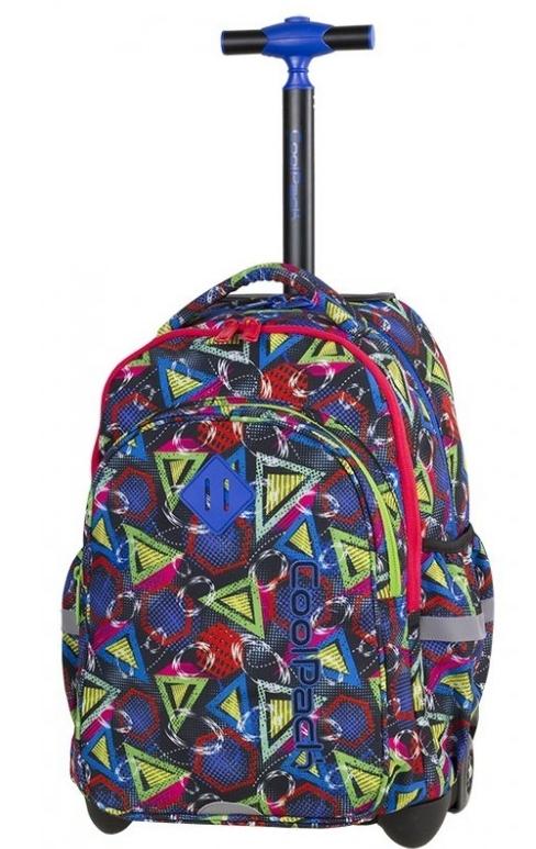 Coolpack - Junior - Plecak na kółkach - Geometric shapes (85267CP)