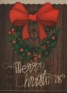 Karnet Merry Christmas Kokarda