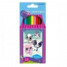 Kredki ołówkowe 12 kolorów Littlest Pet Shop