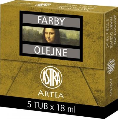 Farba olejna Artea 18 ml