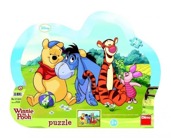 Puzzle Dino ramkowe 25 el. WTP (311268)