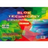 Blok techniczny Protos kolor A3 kolorowy 160g 20k