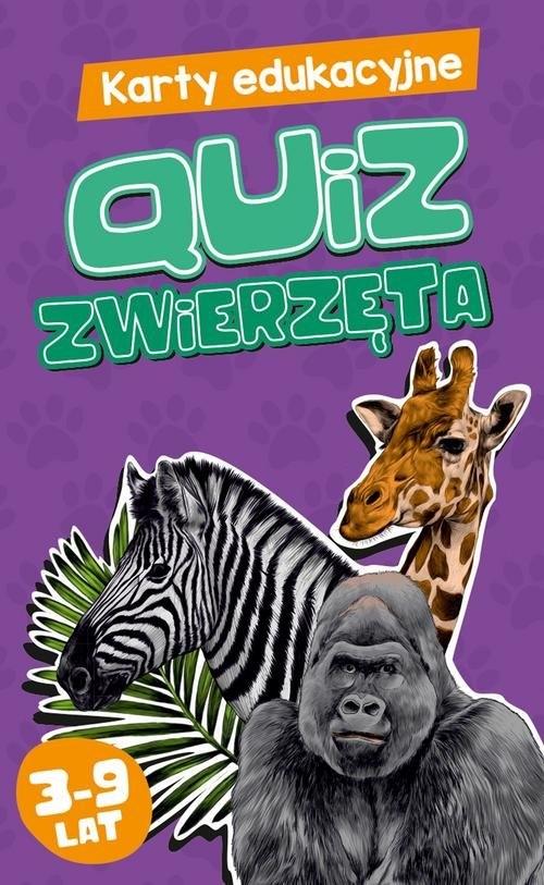 Karty edukacyjne - Quiz Zwierzęta Czapczyk Paweł