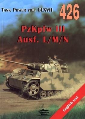 PzKpfw III Ausf. L/M/N. Tank Power vol. CLXVII 426