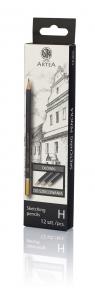 Ołówek do szkicowania H Artea 12 sztuk