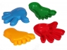 Foremki do piasku, 2 dłonie + 2 nóżki (37268)