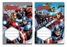 Zeszyt A5 w kratkę 16 kartek Avengers mix