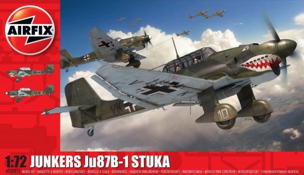 Model do sklejania Junkers Ju87 B-1 Stuka 1/72 (03087a)