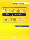 Vocabulaire progressif du français Niveau débutant Książka + CD 2. edycja Miquel Claire