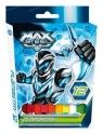 Flamastry Max Steel 12 kolorów