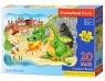 Puzzle maxi konturowe Smok Wawelski 20 elementów (02269)