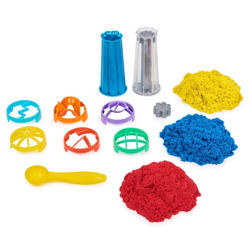 Kinetic Sand: Piasek kinetyczny - Fontanna piasku 907g (6055859)
