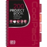 Coolpack - Project Book -  Kołobrulion B5 Red (94269CP)