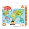 CzuCzu: Puzzle Mapa świata 168 elementów (336269)