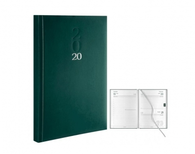 Kalendarz A5 Mastra zielony 2020