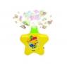 Projektor gwiazdka - żółty
