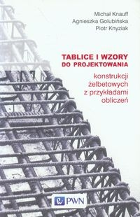 Tablice i wzory do projektowania konstrukcji żelbetowych z przykładami obliczeń Knauff Michał, Golubińska Agnieszka, Knyziak Piotr