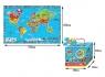 Mata piankowa. Mapa Świata
