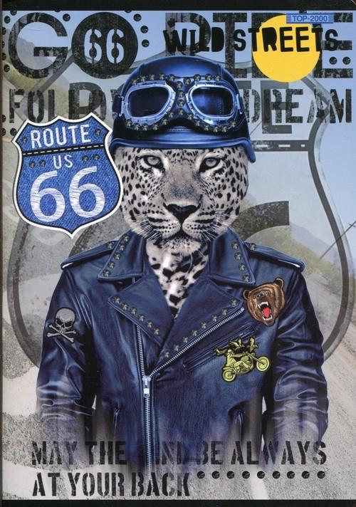 Zeszyt A5 Wild Streets w kratkę 60 kartek