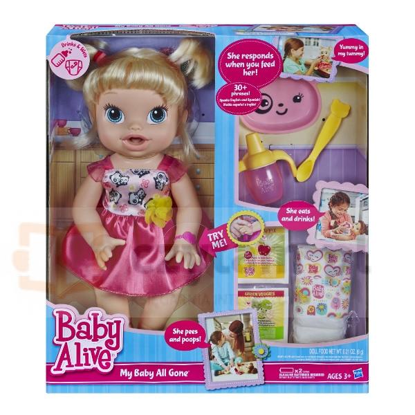 HASBRO Baby Alive Moja lala (A7022)