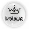 """Balon 45 cm - """"Królowa"""" czarny (TB 3627)"""