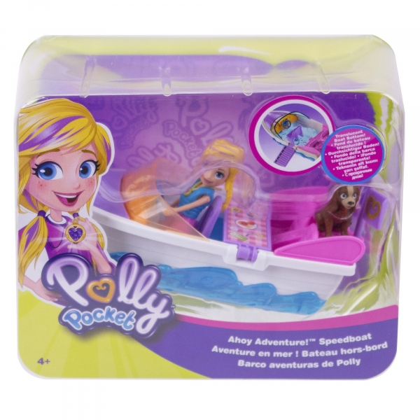 Polly Pocket: Motorówka z lalką