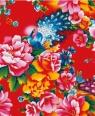Karnet 17x14cm z kopertą Detail from a bed quilt fabric