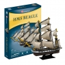 Puzzle 3D: Żaglowiec HMS Beagle (306-24027)Wiek: 8+