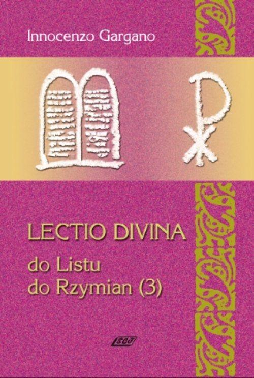 Lectio Divina 17 Do Listu do Rzymian 3 Gargano Innocenzo