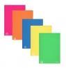 Brulion A5 Color Blocking w kratkę 96 kartekmix kolorów