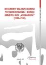 Dokumenty Krajowej Komisji Porozumiewawczej i Komisji Krajowej NSZZ Solidarność (1980-1981)