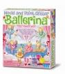 Odlewy gipsowe Brokatowe baletnice