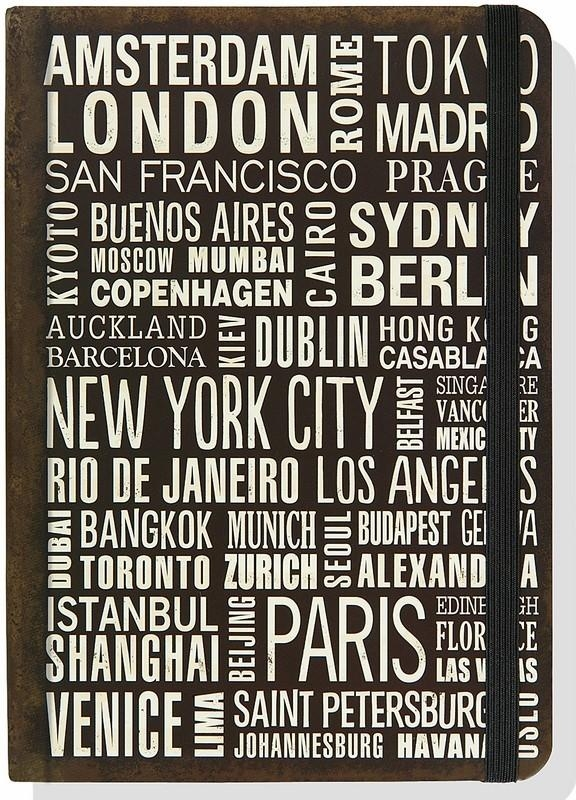Notatnik Peter Pauper Midi One Hundred Cities Journal