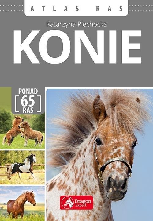 Konie Atlas ras (Uszkodzona okładka) Piechocka Katarzyna