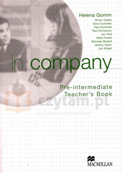 In Company Pre-Inter TB Mark Powell