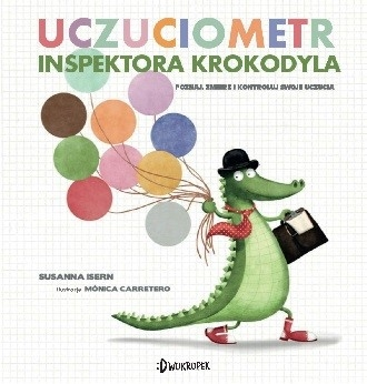 Uczuciometr inspektora Krokodyla Susanna Isern